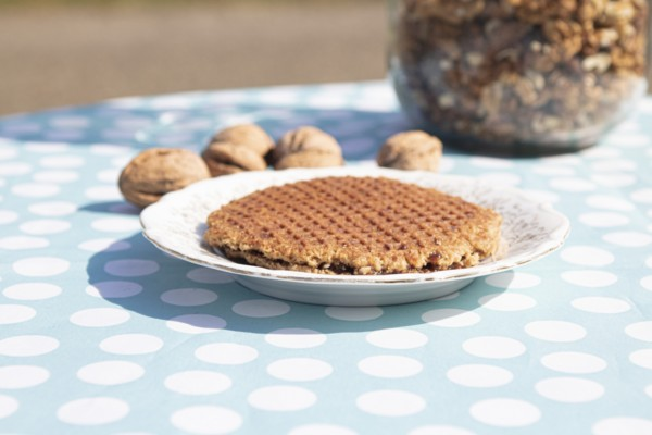 Stroopwafel walnoot